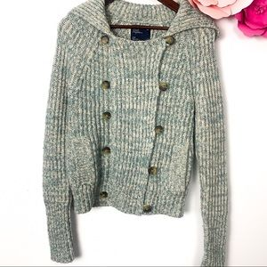 American eagle sweater jacket size S
